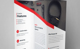 Sencuary Corporate Trifold Brochure Corporate Identity Template