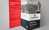 Cleaning Corporate Trifold Brochure Corporate Identity Template Big Screenshot