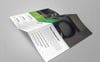 Case Study Corporate Trifold Brochure Corporate Identity Template Big Screenshot
