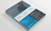 Software Company Corporate Flyers Corporate Identity Template Big Screenshot