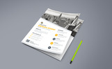 Orange Color Corporate Flyer Corporate Identity Template