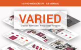 "PowerPoint Vorlage namens ""Varied -"""