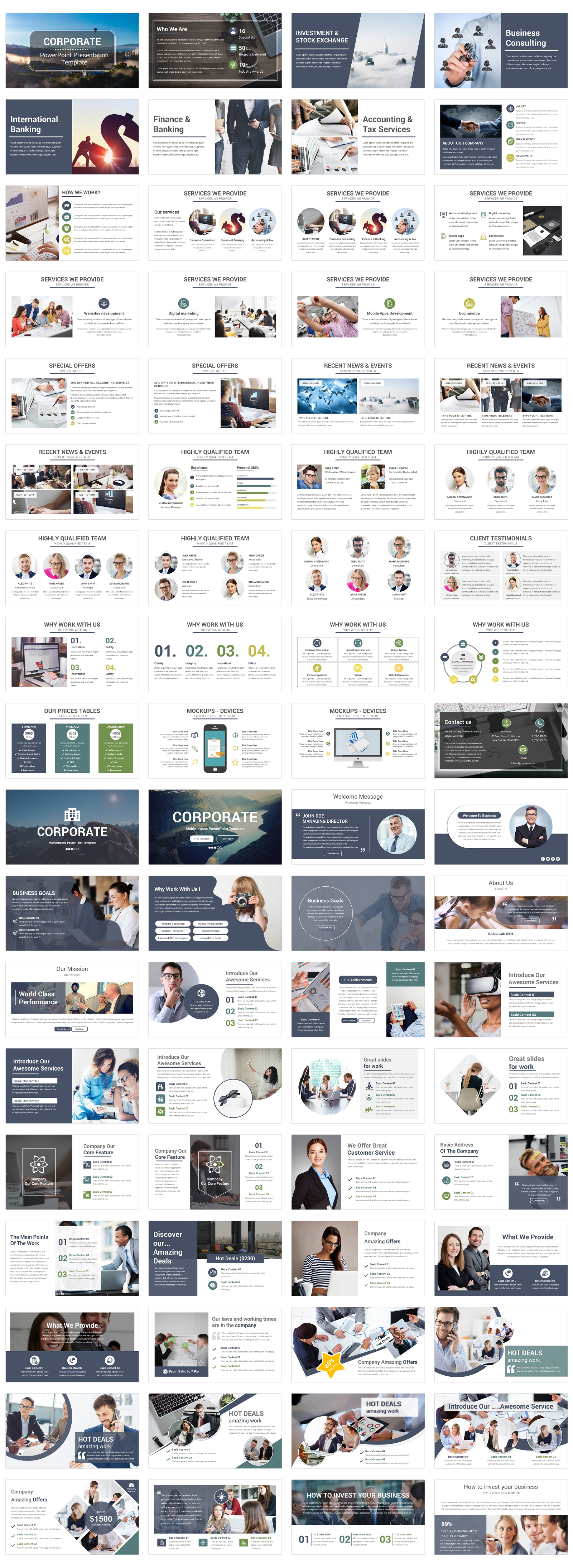 Business Corporate PowerPoint Template