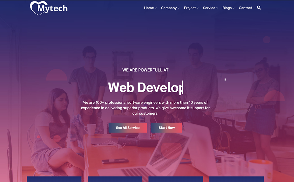 MyTech-IT Solution & Business Consulting WordPress Theme