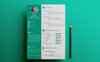 ARP - Graphic Designer Resume Template Big Screenshot
