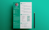 ARP - Graphic Designer Resume Template