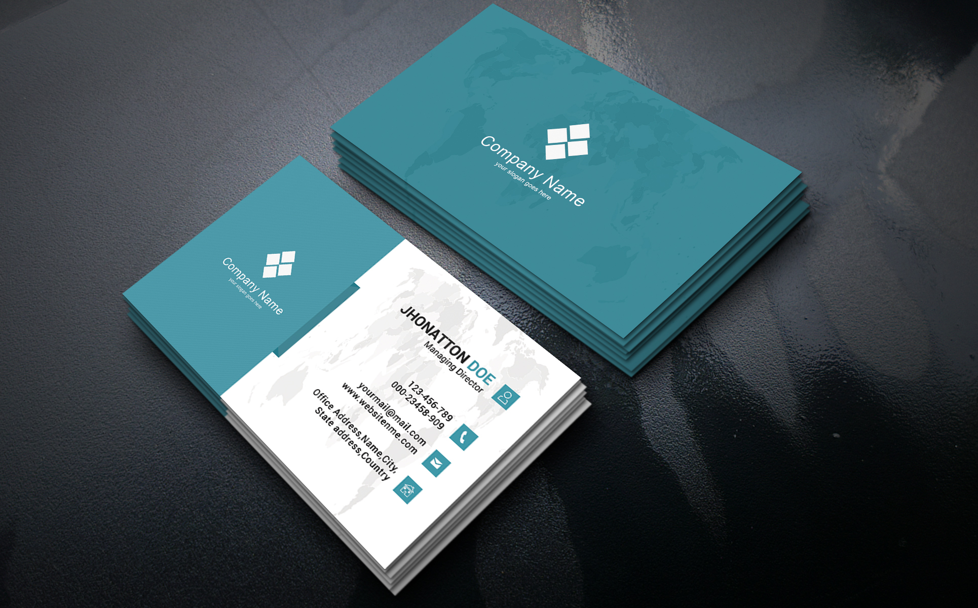 Patrick business card visiting card corporate identity patrick business card visiting card corporate identity template big screenshot reheart Image collections
