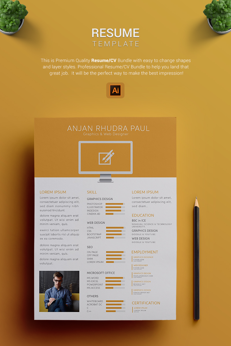 Johnathon  Resume Template