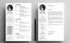 Amity Peter - CV Resume Template Big Screenshot