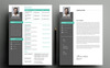 Johny Resume Template Big Screenshot
