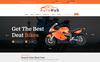 AutoHub Website Template Big Screenshot