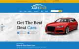 AutoHub Website Template