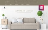 Roomswear - Bútorüzlet Elementor WordPress téma