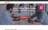 Responsivt Biznow - Business Consulting Elementor WordPress-tema
