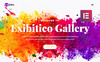 Responsivt Exibitico - Art Gallery Elementor WordPress-tema New Screenshots BIG