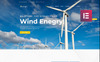 "Responzivní WordPress motiv ""Strongo - Wind Energy Company"" New Screenshots BIG"
