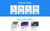 Garry - Responsive Business HTML Landing Page Template Big Screenshot