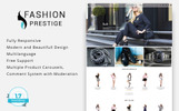 Prestige - Fashion 1.7 Tema PrestaShop  №69539