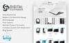 """Digital Electronics Store 1.7"" Responsive PrestaShop Thema Groot  Screenshot"