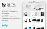 """Digital Electronics Store 1.7"" Responsive PrestaShop Thema"