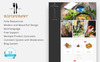 Universal Restaurant 1.7 PrestaShop Theme Big Screenshot