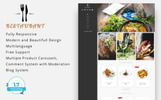 "PrestaShop шаблон ""Universal Restaurant 1.7"""