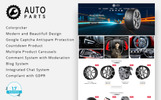 """Auto Moto Parts"" thème PrestaShop adaptatif"