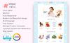 Reszponzív Kids Toys Store PrestaShop sablon Nagy méretű képernyőkép