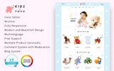 Reszponzív Kids Toys Store PrestaShop sablon