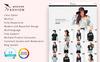 Modern Fashion 1.7 Tema PrestaShop  №77419 Screenshot Grade
