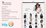 Modern Fashion 1.7 Tema PrestaShop  №77419