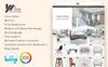 Tema de PrestaShop para Sitio de Muebles Captura de Pantalla Grande