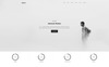 """Ineco Minimal Creative Portfolio"" Responsive WordPress thema Groot  Screenshot"