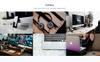 Smart - One Page Landing Page Template Big Screenshot