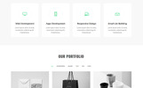 Startup - One Page Landing Page Template