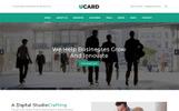 UCard - Landing Page Template