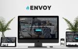 """""""Envoy - Parallax"""" modèle  de page d'atterrissage adaptatif"""