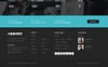 Envoy - Parallax Landing Page Template Big Screenshot