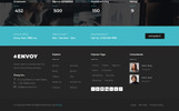 Envoy - Parallax Landing Page Template