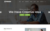Prism - One Page Parallax Landing Page Template