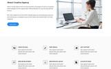 Plantilla para Página de Aterrizaje para Sitio de Tecnología de la información