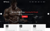 Fitness -  Parallax Landing Page Template Big Screenshot