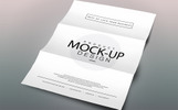 A4 Size Flyer Product Mockup