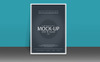 A4 Business Flyer Mock-up Product Mockup Big Screenshot