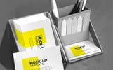 Corporate Business Card Product Mockup