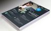 Inspired Flyer Design PSD Corporate Identity Template Big Screenshot