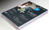 Inspired Flyer Design PSD Corporate Identity Template