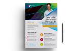 """Unternehmensidentität Vorlage namens """"Perfect Design Flyer PSD"""""""