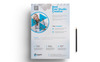 "Tema di Identità Aziendale #76614 ""Best Ever Studio Creative Flyer PSD"" Screenshot grande"