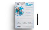 "Tema di Identità Aziendale #76614 ""Best Ever Studio Creative Flyer PSD"""